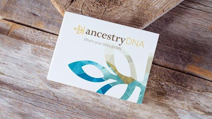AncestryDNA sends everything you need in a compact package.
