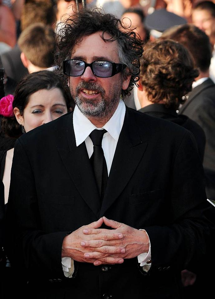 """Only the mind of director Tim Burton could create the surreal settings in eccentric movies like """"Corpse Bride,"""" """"Edward Scissorhands,"""" and """"Beetlejuice."""" But while folks might love his films, voters found him creepy enough to tie with Woody Allen. (5/23/2011)"""