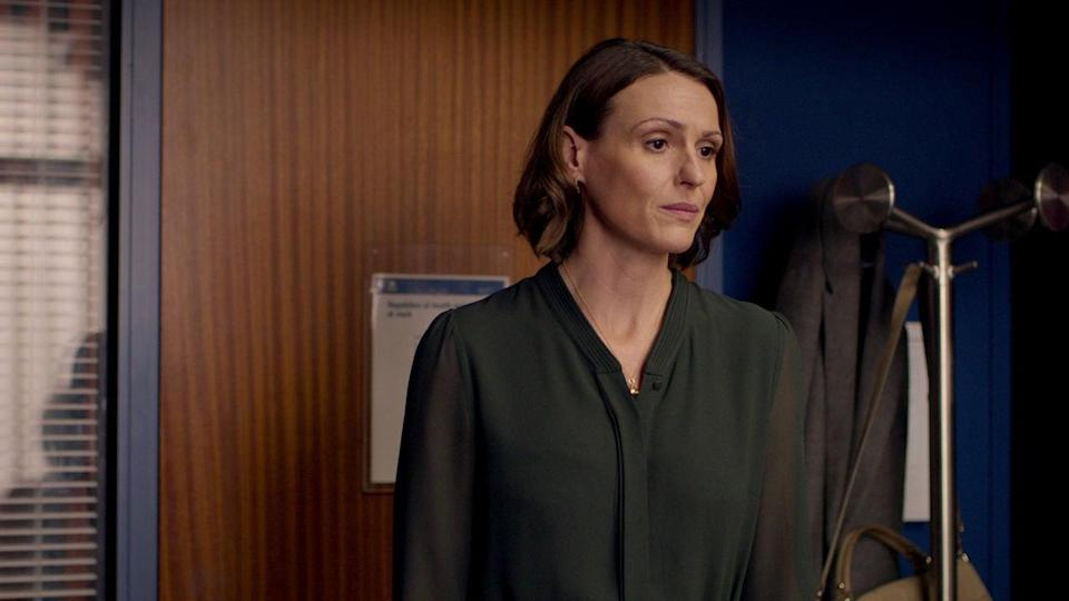 """<p>This mystery-drama series tells the story of Dr. Gemma Foster, who suspects her husband is cheating on her. She decides to investigate, but the secrets she uncovers quickly tears her world apart.</p> <p><a href=""""https://www.netflix.com/title/80097034"""" class=""""link rapid-noclick-resp"""" rel=""""nofollow noopener"""" target=""""_blank"""" data-ylk=""""slk:Watch Doctor Foster on Netflix now"""">Watch <strong>Doctor Foster</strong> on Netflix now</a>.</p>"""