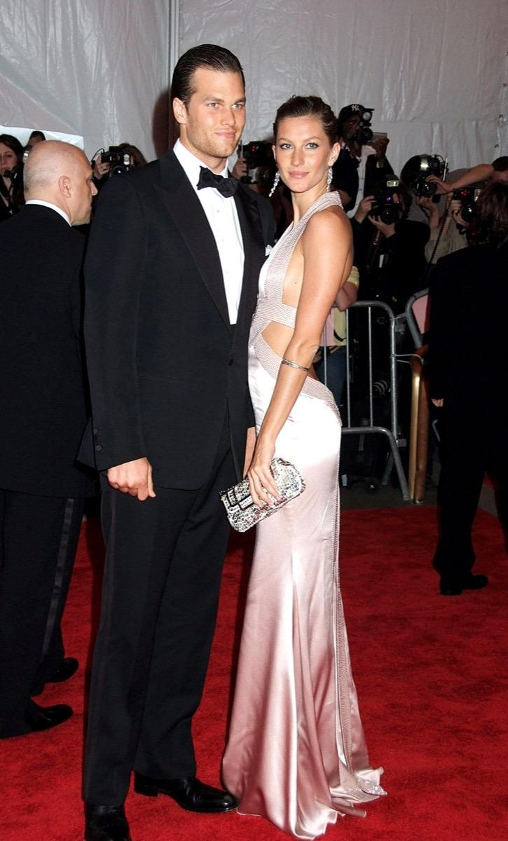 tom brady with his wife, 2000s, biggest male icon
