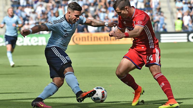 Dom Dwyer Matt Hedges MLS 06192017