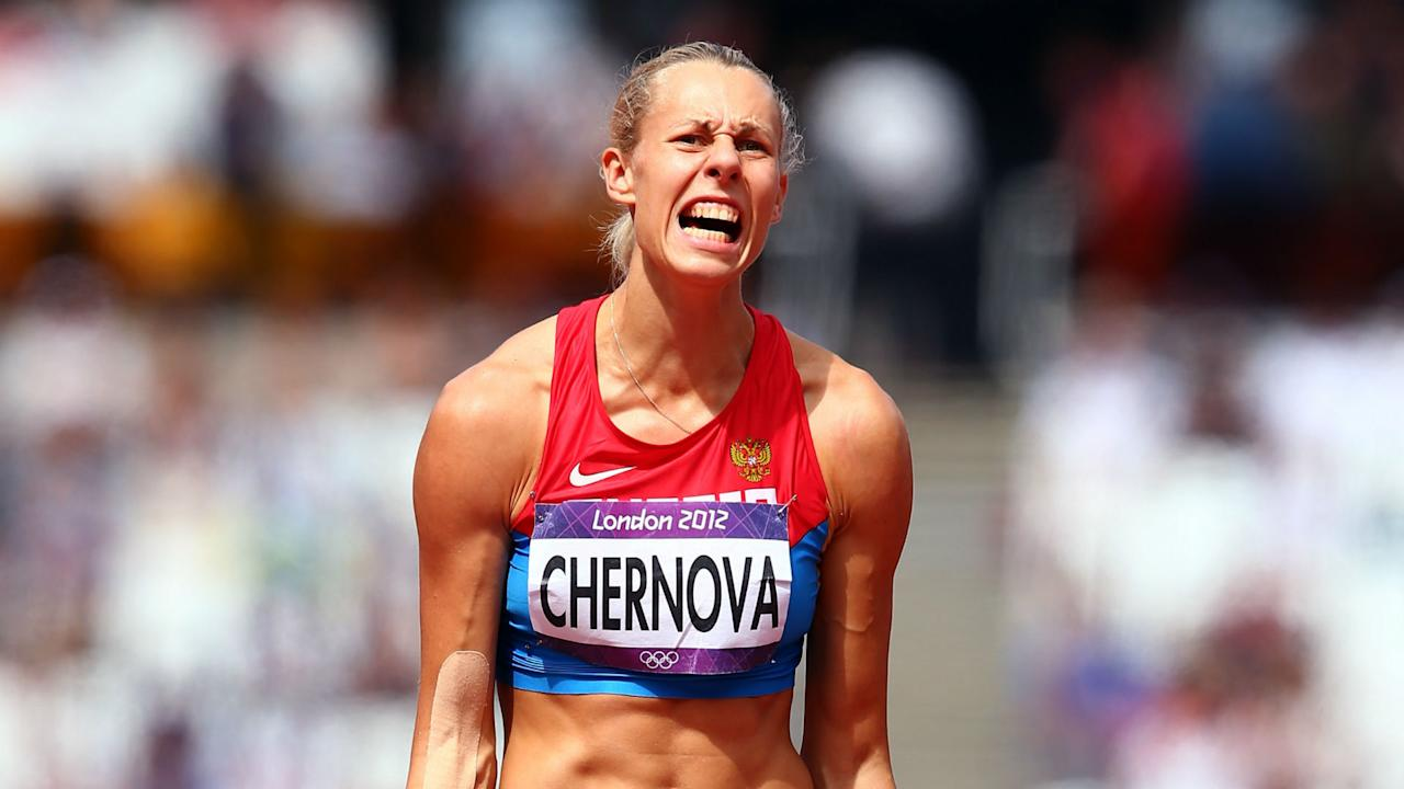 Another doping violation has seen Russia's Tatyana Chernova stripped of the heptathlon bronze she won at the Beijing Olympics in 2008.