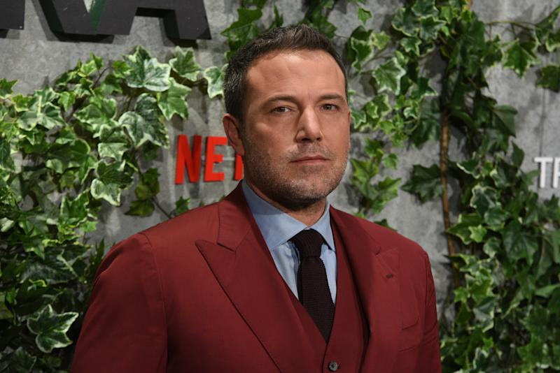 MADRID, SPAIN - 2019/03/06: Actor Ben Affleck poses as he arrives for the premiere of 'Triple Frontier' at Callao Cinema in Madrid. (Photo by Jorge Sanz/Pacific Press/LightRocket via Getty Images)