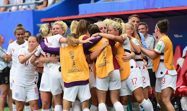 England will play Norway in the quarter-finals. (Credit: Getty Images)