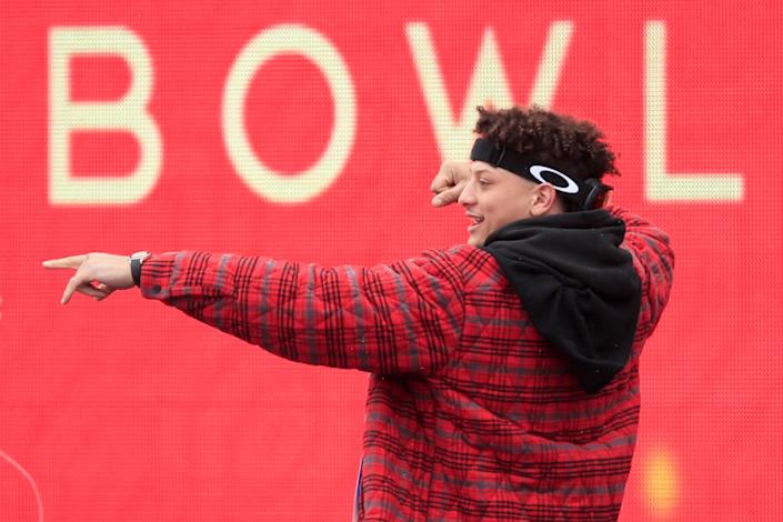 """Kansas City Chiefs quarterback Patrick Mahomes is one of 32 athletes involved with More than a Vote. <span class=""""copyright"""">(Orlin Wagner / Associated Press)</span>"""