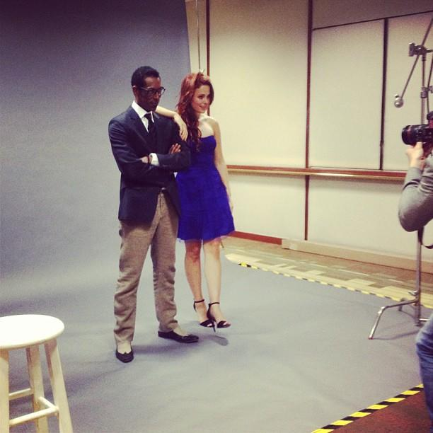 """@TheOrlandoJones and Katia Winter hanging with @HollywoodReporter. -Tom Mison #sleepyhollow #tcas13 #yahooselfie"""