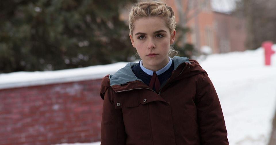 "<p>Before Kiernan Shipka fell in league with the Dark One in <em><a href=""https://www.netflix.com/watch/80230071"" rel=""nofollow noopener"" target=""_blank"" data-ylk=""slk:The Chilling Adventures of Sabrina"" class=""link rapid-noclick-resp"">The Chilling Adventures of Sabrina</a></em>, she was creeping people out in this indie horror. She plays one of two boarding-school girls whose parents fail to pick them up for winter break, and the pair discover a bad presence at the school.</p><p><a class=""link rapid-noclick-resp"" href=""https://www.netflix.com/watch/80080768"" rel=""nofollow noopener"" target=""_blank"" data-ylk=""slk:WATCH NOW"">WATCH NOW</a></p>"