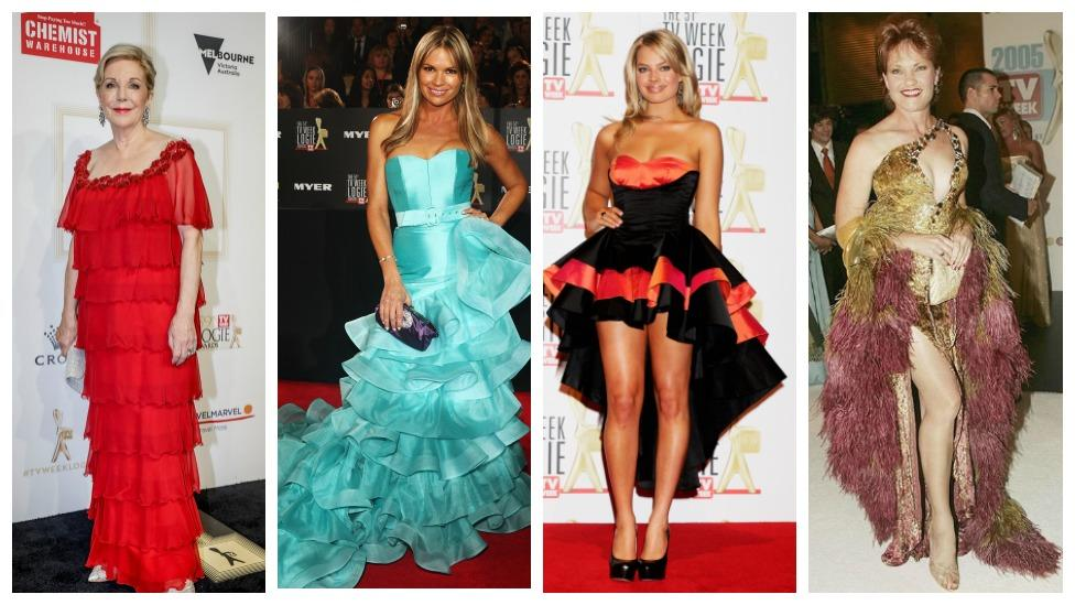 <p>See all of the statement Logies dresses from over the years. </p>