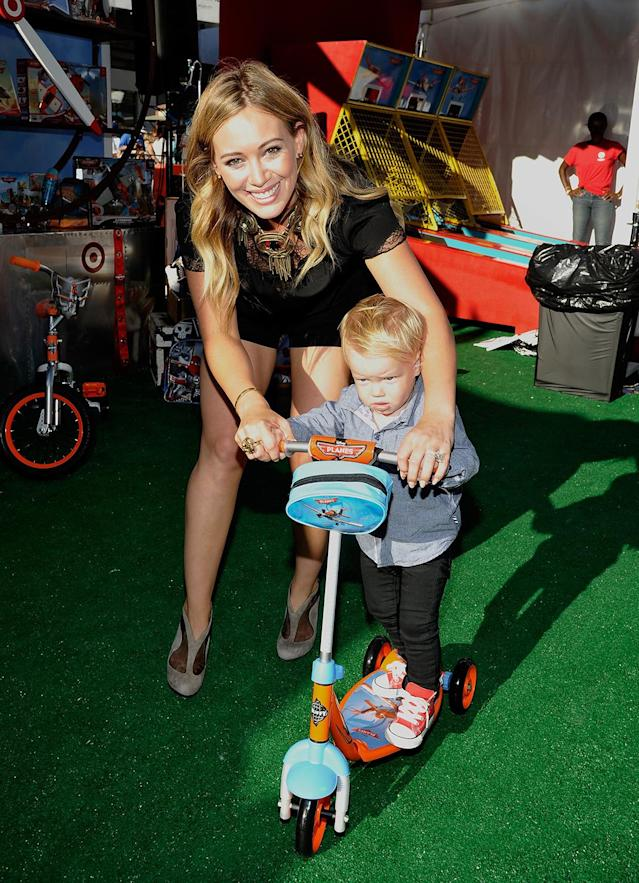 <p>Actress Hilary Duff became a mother at 24. (Photo by John Sciulli/Getty Images for Target) </p>