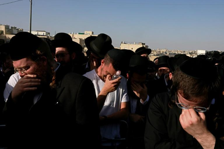 Israel's health ministry put the toll at 45 dead in the stampede at the reputed tomb of Rabbi Shimon Bar Yochai