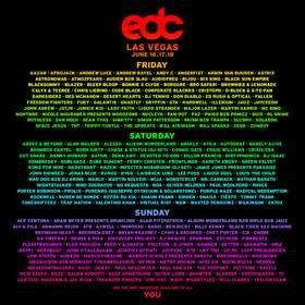 Insomniac Reveals Massive Lineup For 21st Annual Electric Daisy Carnival in Las Vegas