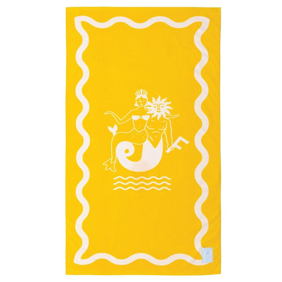 <p>Go bold and bright with the <span>Funboy Icon Beach Towel</span> ($49). </p>