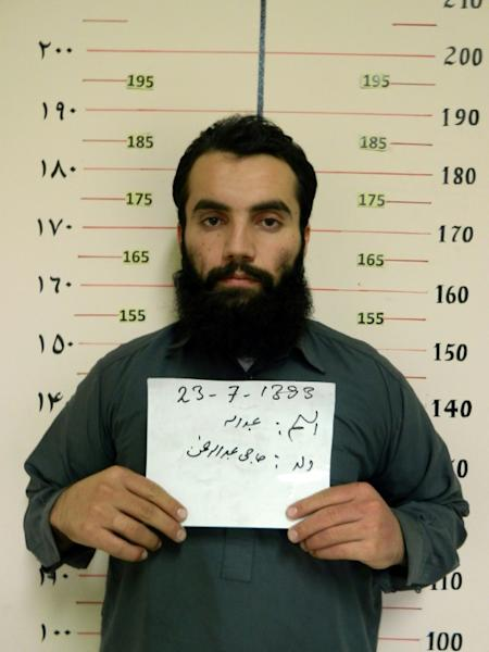 Anas Haqqani, a senior leader of the Haqqani network and currently held by Afghan authorities, is one of the prisoners involved in the swap (AFP Photo/Handout)