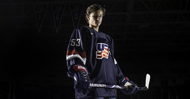 Anaheim Ducks select Trevor Zegras with 9th pick in 2019 NHL Entry Draft