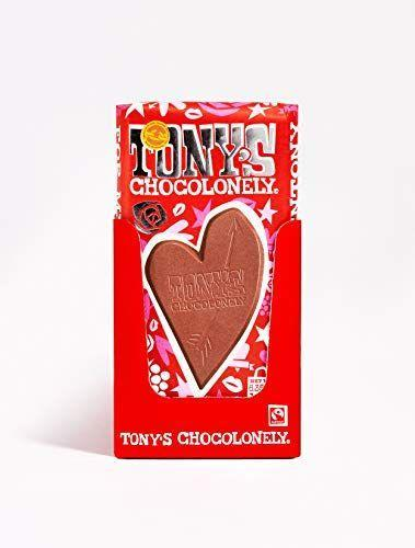 "<p><strong>Tony's Chocolonely</strong></p><p>amazon.com</p><p><strong>$75.00</strong></p><p><a href=""https://www.amazon.com/dp/B08Q4NPYJS?tag=syn-yahoo-20&ascsubtag=%5Bartid%7C10050.g.35180060%5Bsrc%7Cyahoo-us"" rel=""nofollow noopener"" target=""_blank"" data-ylk=""slk:Shop Now"" class=""link rapid-noclick-resp"">Shop Now</a></p><p>This special Valentine's Bar has pieces of rose fudge and raspberry. There are 15 bars in this box, so you can give one to everyone on your Valentine's Day list (and save one for yourself!).</p>"