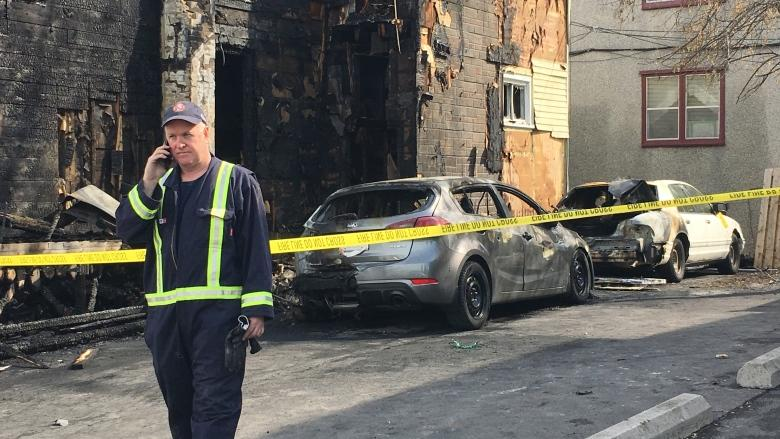 'Very scary': Spate of overnight fires strikes Vanier