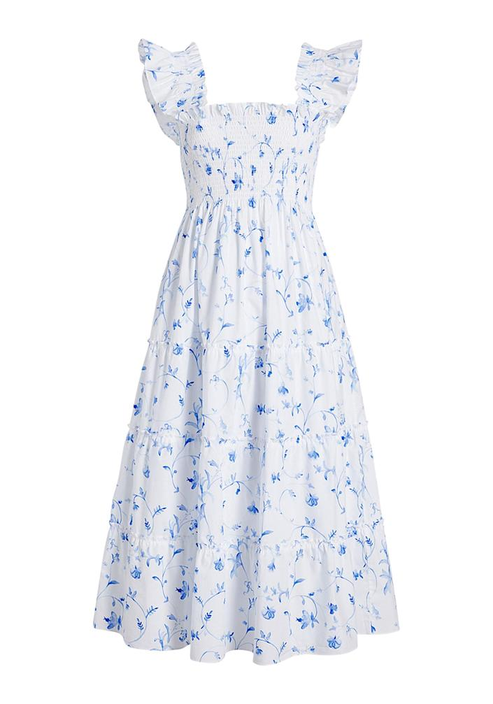 """<p>This breezy cotton dress has been """"Internet famous"""" since debuting in 2019. Despite its name, you'll want to wear it everywhere.</p> <p><strong>Buy it!</strong> $125; <a href=""""https://www.pjatr.com/t/8-12559-131940-223800?sid=PEOIntroducingPEOPLEsProductsWorththeHypein2021khogan1271StyGal12821774202107I&url=https%3A%2F%2Fwww.hillhousehome.com%2Fcollections%2Fthe-nap-dress-shop"""" rel=""""sponsored noopener"""" target=""""_blank"""" data-ylk=""""slk:hillhousehome.com"""" class=""""link rapid-noclick-resp"""">hillhousehome.com</a></p>"""