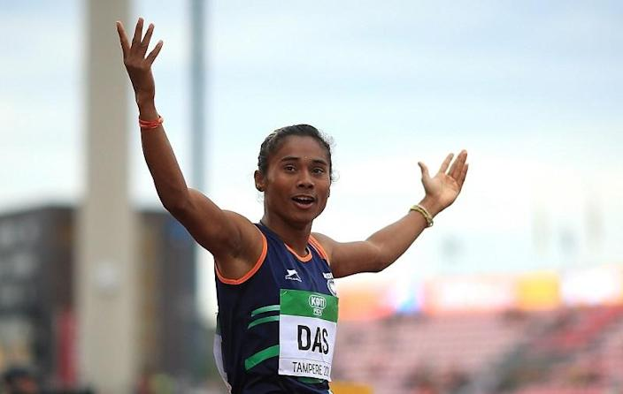 Hima Das is India's first Youth Ambassador