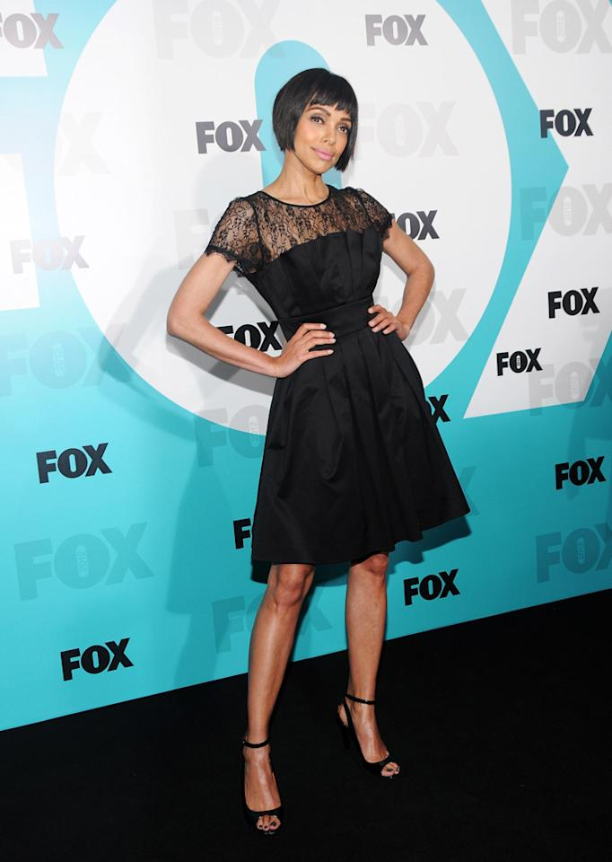 """Tamara Taylor (""""Bones"""") attends the Fox 2012 Upfronts Post-Show Party on May 14, 2012 in New York City."""