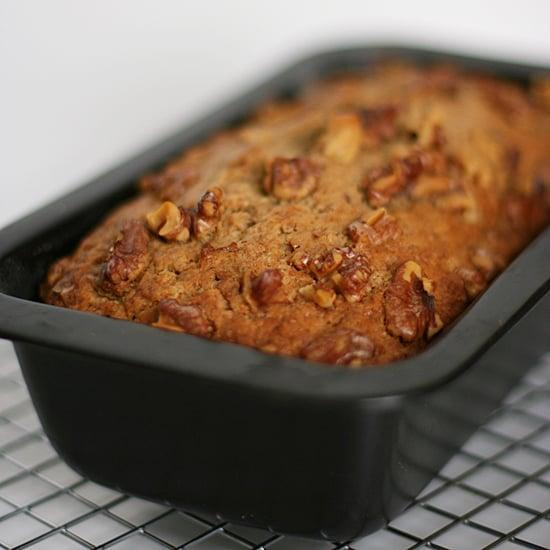 """<p>Bananas and walnuts work together to make this nutty banana bread. It's moist and drool-worthy, so be sure to make extra!</p> <p><strong>Original Starbucks Food:</strong> <a href=""""http://www.starbucks.com/menu/food/bakery/banana-walnut-pecan-bread-lb"""" class=""""link rapid-noclick-resp"""" rel=""""nofollow noopener"""" target=""""_blank"""" data-ylk=""""slk:banana nut bread"""">banana nut bread</a></p> <p><strong>Homemade Version:</strong> <a href=""""https://www.popsugar.com/food/Banana-Nut-Bread-26219933"""" class=""""link rapid-noclick-resp"""" rel=""""nofollow noopener"""" target=""""_blank"""" data-ylk=""""slk:banana nut bread"""">banana nut bread</a></p>"""
