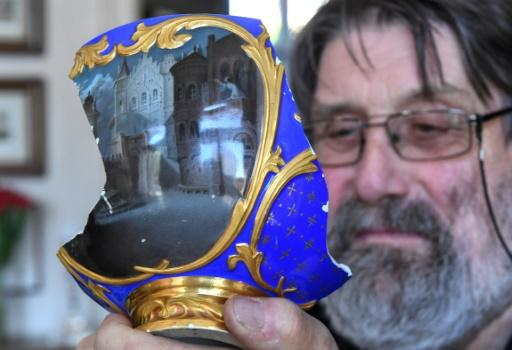 Renowned organ maker and art expert Patrick Collon now owns the fragment