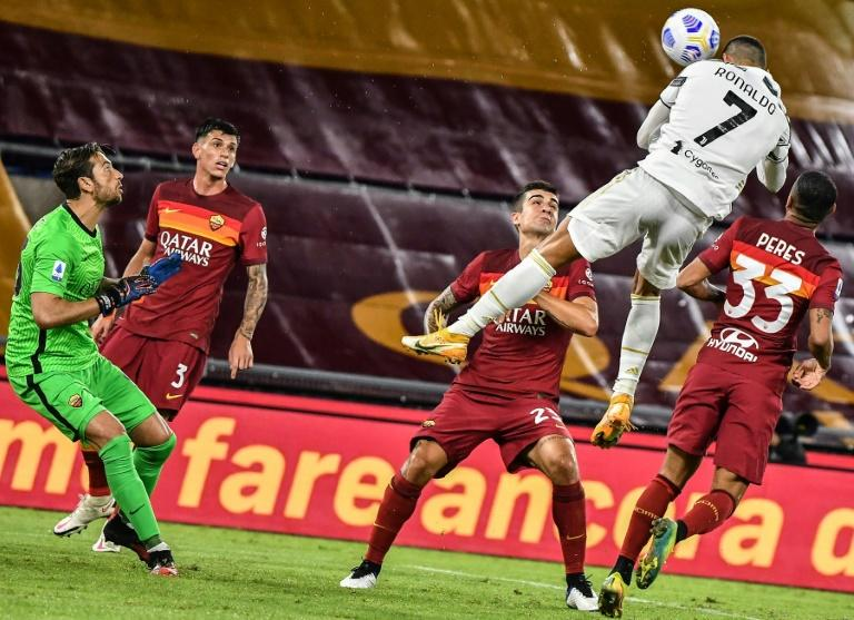 Ronaldo rescues a point for Juventus at Roma