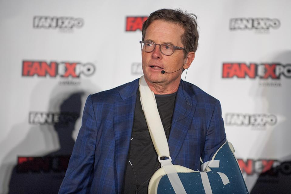 Michael J. Fox attends the 2018 Fan Expo Canada at Metro Toronto Convention Centre on August 31, 2018 in Toronto, Canada. (Photo: Che Rosales/Getty Images)