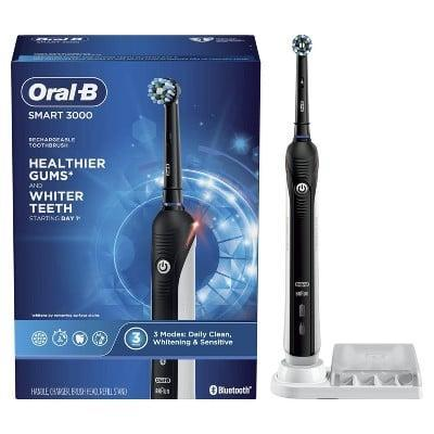 <p><span>Oral-B Smart 3000 Electric Toothbrush With Bluetooth Connectivity</span> ($80, originally $90)</p>