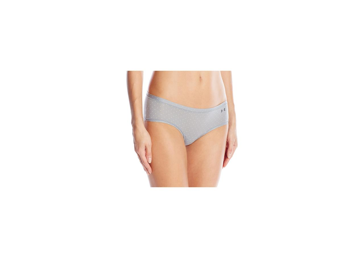 """<p><strong>To buy:</strong> $9-15; <a href=""""https://www.amazon.com/gp/product/B019Z2QLO2/ref=as_li_qf_asin_il_tl?ie=UTF8&tag=healthbestperformanceunderwearupdatechamilton0519-20&creative=9325&linkCode=as2&creativeASIN=B019Z2QLO2&linkId=93d7459b9b48f256150c2da294b5d2e9"""" target=""""_blank"""">amazon.com</a></p> <p>These <a href=""""https://www.amazon.com/gp/product/B019Z2QLO2/ref=as_li_qf_asin_il_tl?ie=UTF8&tag=healthbestperformanceunderwearupdatechamilton0519-20&creative=9325&linkCode=as2&creativeASIN=B019Z2QLO2&linkId=93d7459b9b48f256150c2da294b5d2e9"""" target=""""_blank"""">tight-fitting panties</a> won't ruin the sleek lines of your sexy workout leggings, but they <em>will</em> keep you cool and dry for maximum performance.</p>"""