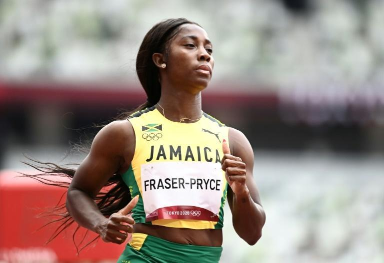 Shelly-Ann Fraser-Pryce comfortably qualified for the 100m semi-final