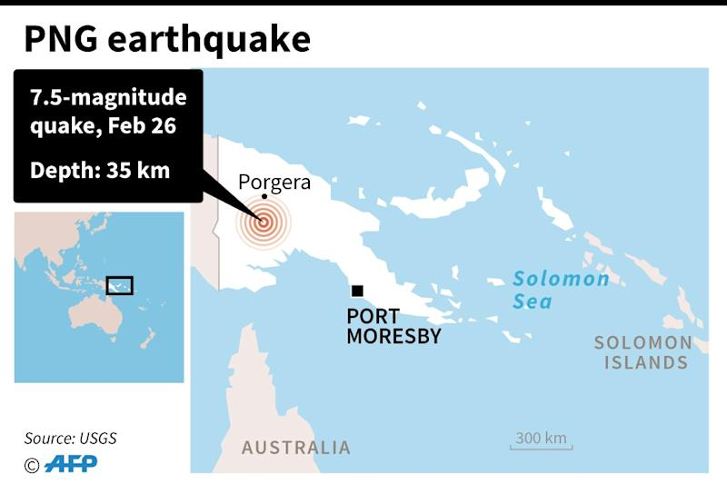 PNG earthquake