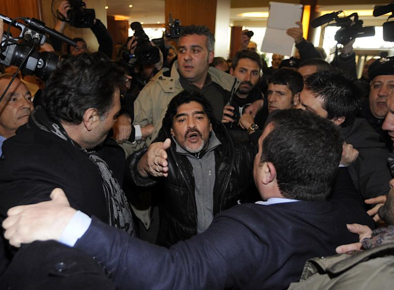 Maradona appeals to clear name in Italian tax case