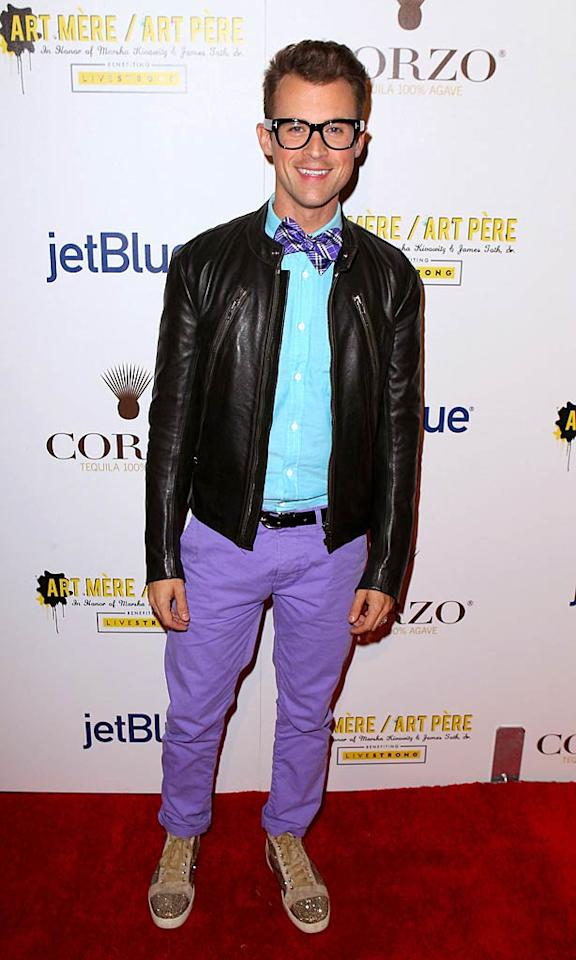 Zoe's ex-employee Brad Goreski also needs a fashion intervention. Dear Brad, Your bow tie is tired, your jacket looks way too heavy, and your sneakers are distracting (in a bad way). Oh, and you're wearing purple pants. XOXO, omg!  Joe Scarnici/GettyImages.com - October 6, 2011