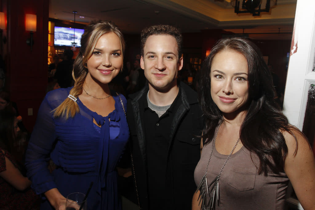 Arielle Kebbel and Ben Savage attend the Opening Night Party at ATX Television Festival on Thursday, June 6, 2013 in Austin, Texas.