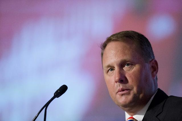 Mississippi coach Hugh Freeze isn't coaching anywhere in college football in 2018. (AP Photo/Brynn Anderson)