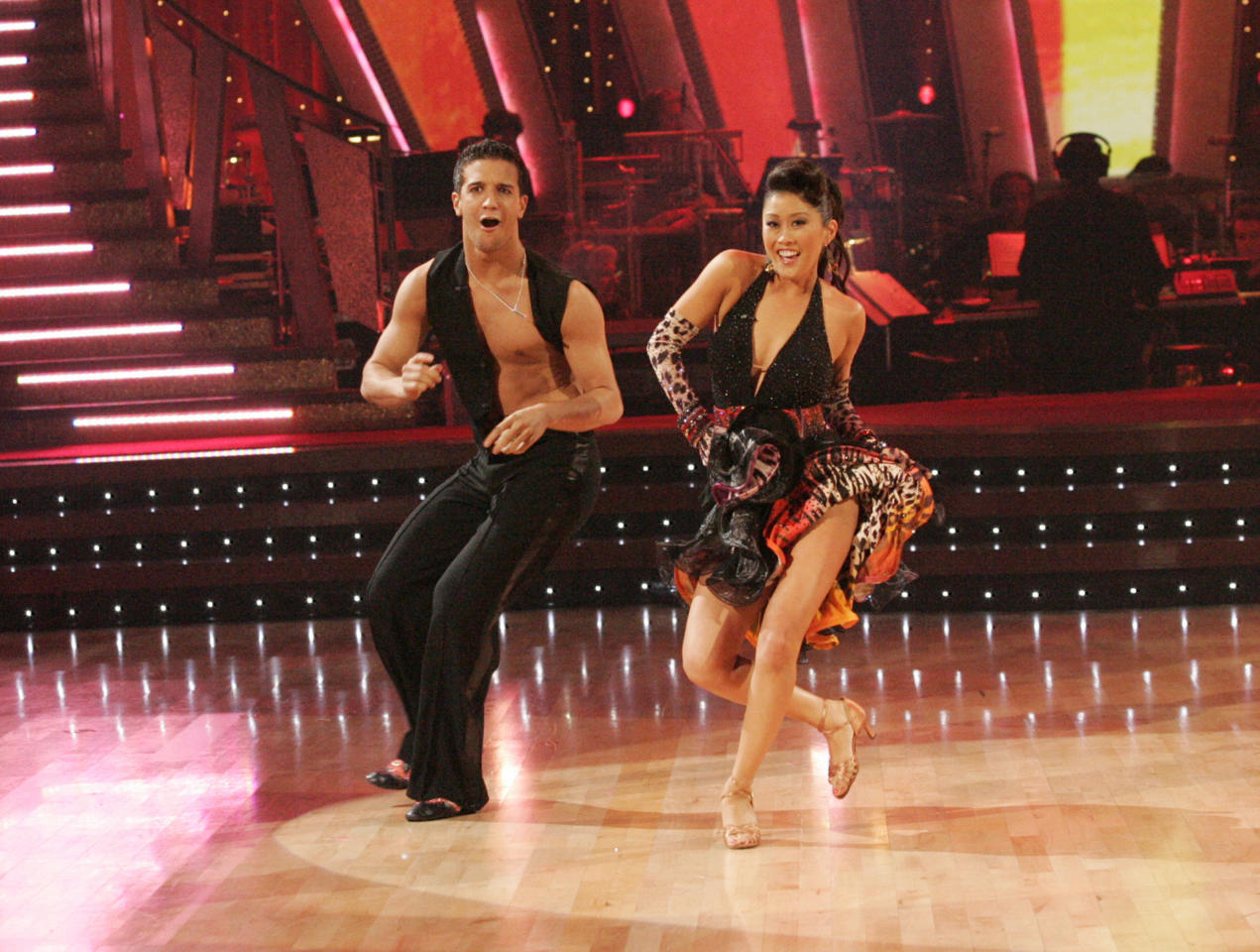 <p>Figure skater Kristi Yamaguchi won the Mirrorball trophy during season six. </p>