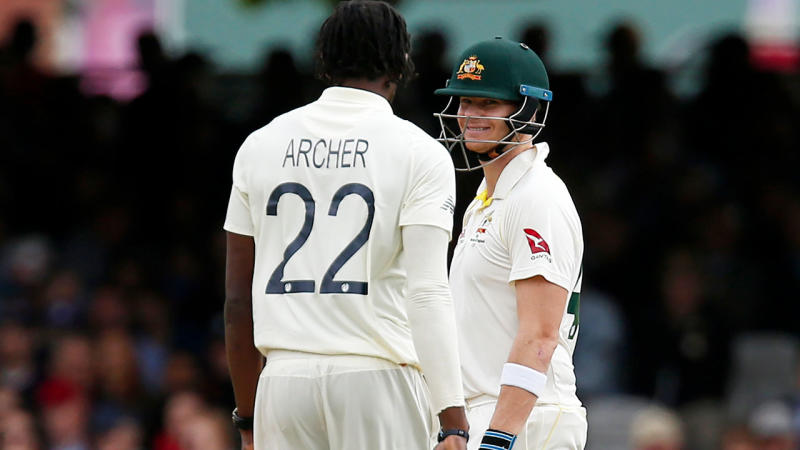 Steve Smith will be reunited with Ashes rival Jofra Archer in the IPL. (Getty Images)