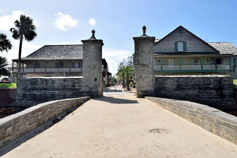 """<p>Boasting the title of America's Oldest City, St. Augustine has plenty of ghosts in its long history, and this family-friendly 90-minute tour takes visitors through the city's most noteworthy hauntings. <br></p><p><a class=""""link rapid-noclick-resp"""" href=""""https://go.redirectingat.com?id=74968X1596630&url=https%3A%2F%2Fwww.tripadvisor.com%2FAttractionProductReview-g34599-d11482301-Walking_Ghost_Tour_of_St_Augustine-St_Augustine_Florida.html&sref=https%3A%2F%2Fwww.redbookmag.com%2Flife%2Fg37623207%2Fghost-tours-near-me%2F"""" rel=""""nofollow noopener"""" target=""""_blank"""" data-ylk=""""slk:LEARN MORE"""">LEARN MORE</a></p>"""