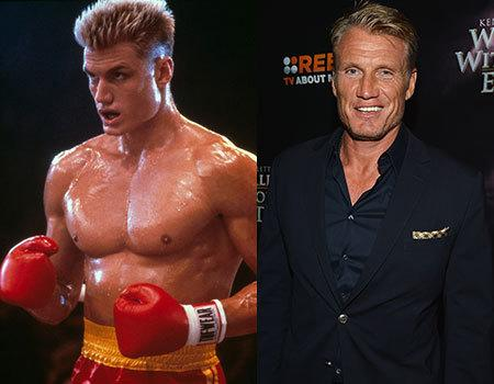 Dolph Lundgren's first big movie was 'Rocky IV' in which he played Ivan Drago, a Russian boxer. He most recently starred in the third 'Expendables' film, once again acting alongside Sylvester Stallone. At the age of 57, he still looks pretty good! Although we can't say whether he's still rocking that six pack or not…