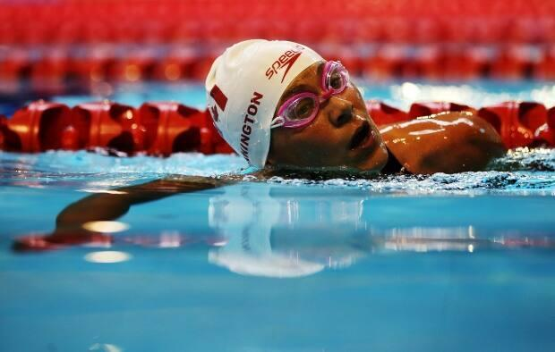 Tammy Cunnington, seen above in 2015, was one of four athletes nominated by Swimming Canada on Thursday to round out the Tokyo Paralympic team. (Ian MacNicol/Getty Images - image credit)
