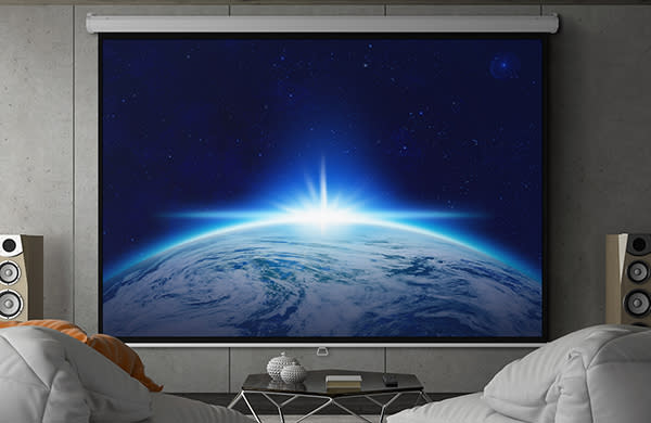 Watch movies the way they were meant to be seen, and blow up your favorite TV shows too! (Photo: Walmart)