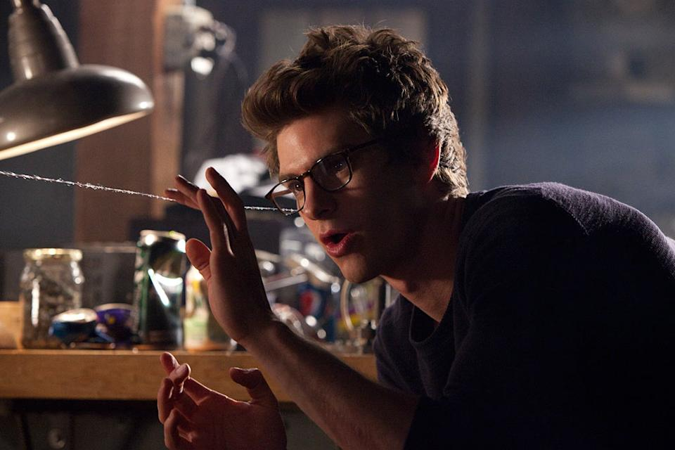 """Andrew Garfield in in Columbia Pictures' """"The Amazing Spider-Man"""" - 2012"""