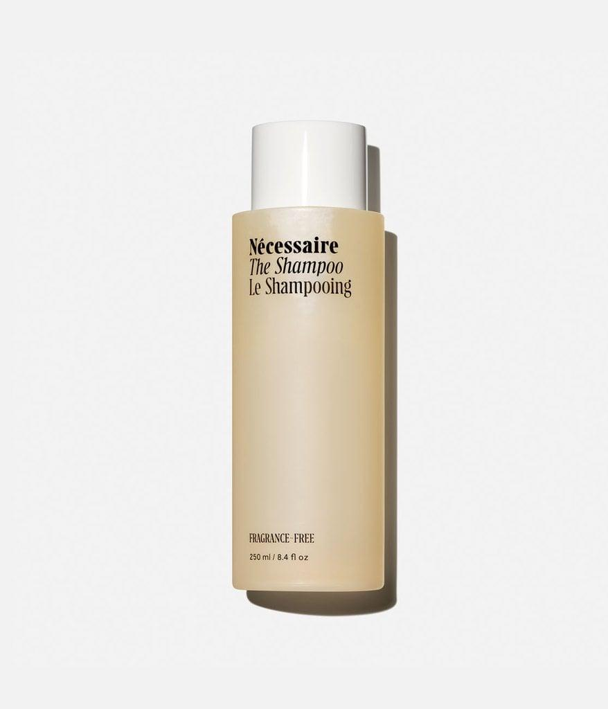 """<p>""""My hunt for a silicone-free shampoo that doesn't leave behind any residue feels never-ending. Considering how much I love all of Nécessaire's other products, I knew when the brand launched <span>The Shampoo</span> ($25) recently that this would be the next bottle on my to-try list. I love the hydrating ingredients like niacinamide and aloe vera leaf juice. Plus, the fact that the product treats the scalp just as much as it does the strands is an added bonus."""" - SN</p>"""