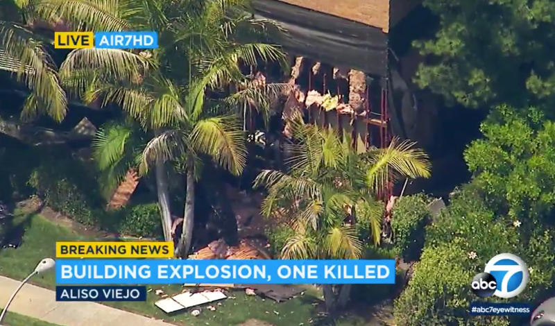 One Killed, Three Hurt in Explosion at a Southern California Medical Building