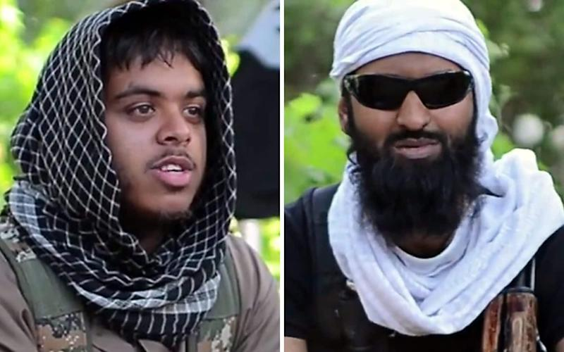 Reyaad Khan and Ruhul Amin were both killed in a 2015 RAF drone strike