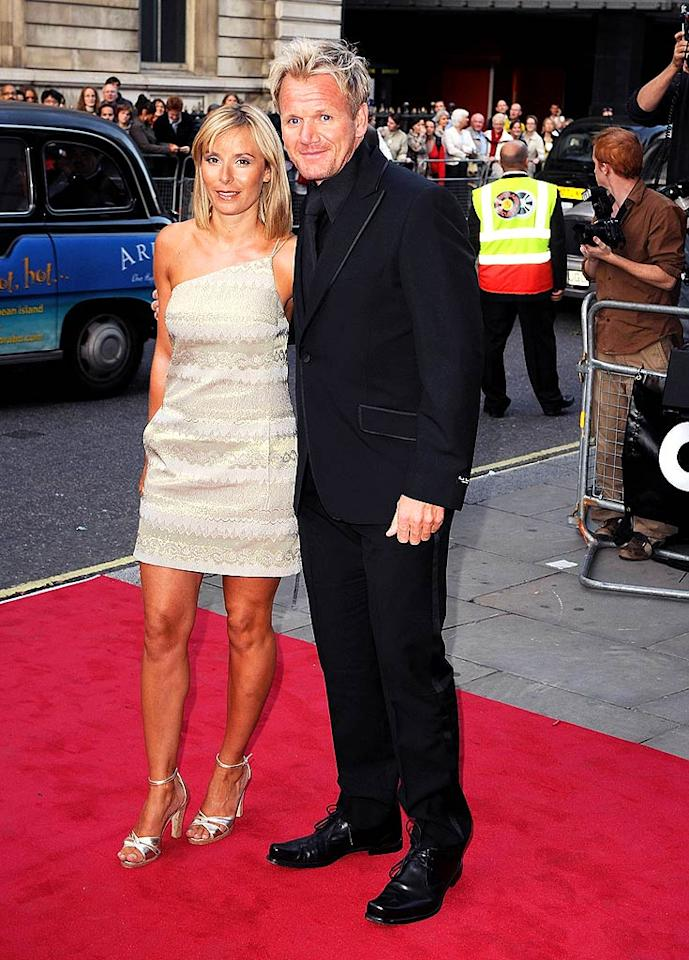 """Gordon Ramsay was awarded the Entrepreneur of the Year Award. The celebrity chef has successful restaurants and reality shows on both sides of the pond. Eamonn McCormick/<a href=""""http://www.wireimage.com"""" target=""""new"""">WireImage.com</a> - September 2, 2008"""