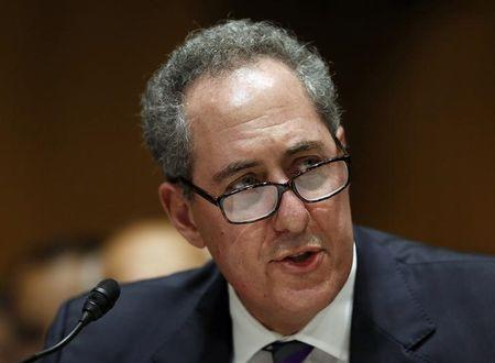 United States Trade Representative Froman testifies before the Senate Finance Committee in Washington