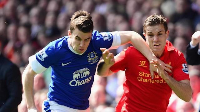 Seamus Coleman's absence from the Merseyside derby was lamented by Liverpool captain Jordan Henderson in a touching tribute.