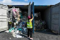 Malaysia has tried to send back a lot of the waste that has been shipped there