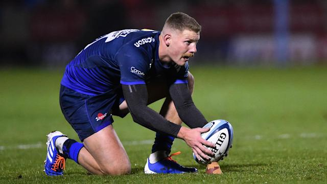 Rob du Preez kicked 17 points while his brother Dan scored Sale Sharks' only try in a hard-fought 28-18 Premiership victory over Wasps.